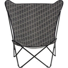 Lafuma Mobilier Pop Up XL Campingstol Airlon + Uni, grå/sort
